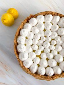 מתכון לפאי לימון ושוקולד לבן